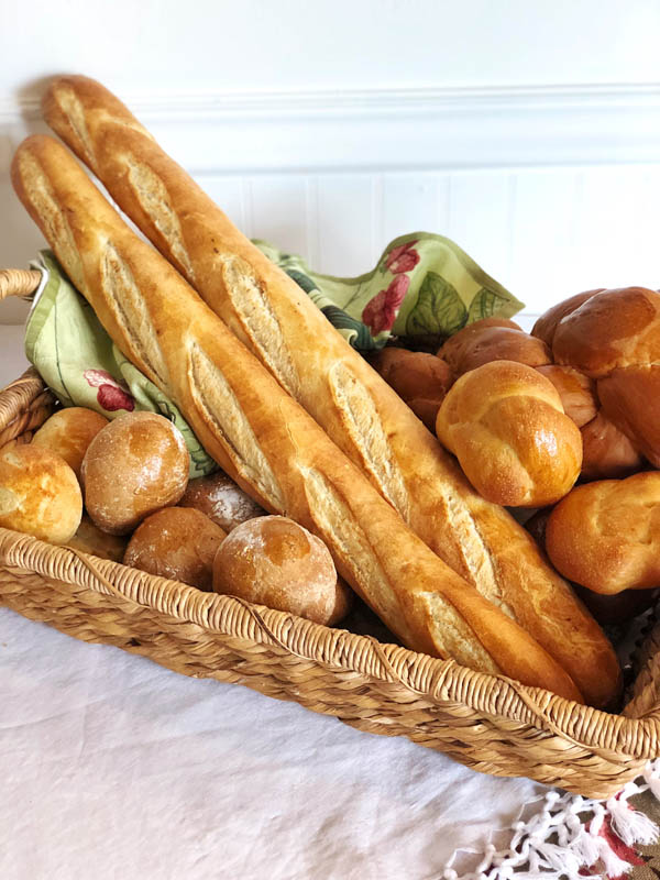 Assorted Breads and Rolls