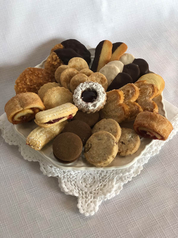 Assorted French butter cookies