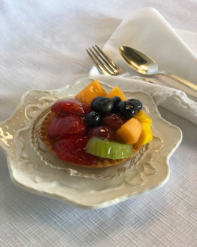 Fresh Fruit Tartelette
