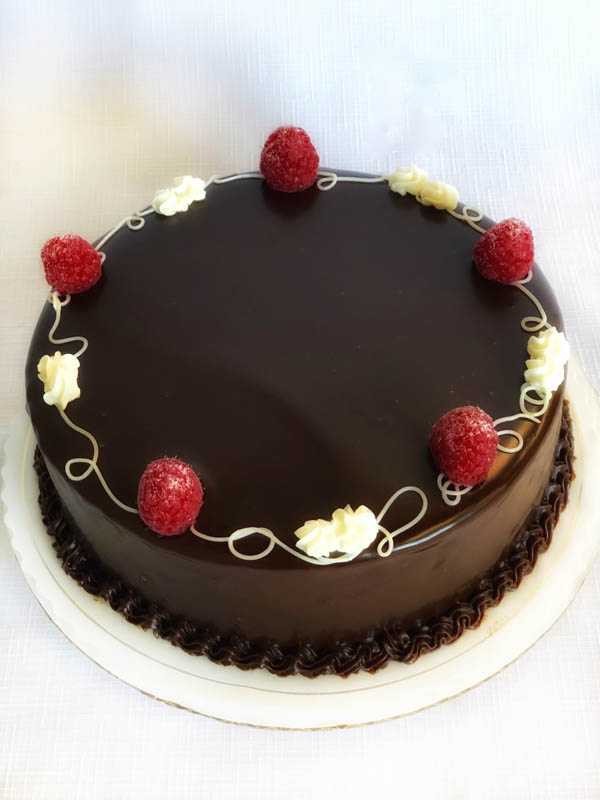 Raspberry Chocolate Ganache