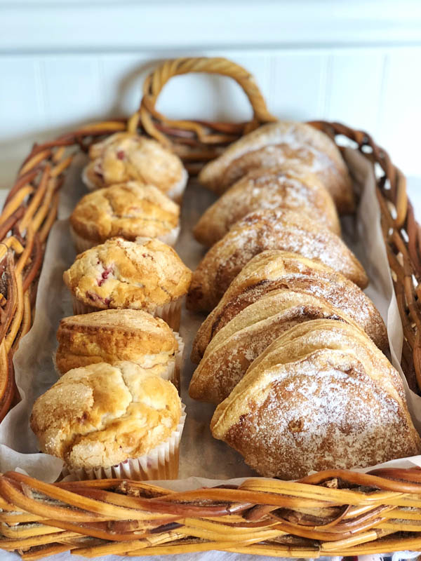 Assorted Muffins and Chaussons aux Pommes ~ Apple Turnovers