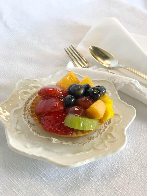 Fresh Fruit Tartelette